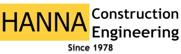 HANNA Construction Engineering Logo